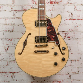 D'Angelico Excel EX-SS Electric Guitar Natural w/OHSC x2362 (USED)