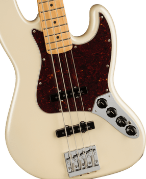 Fender Player Plus Active Jazz Bass MN Olympic Pearl [ARRIVING 9/20]