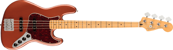 Fender Player Plus Active Jazz Bass MN Aged Candy Apple Red [ARRIVING 9/20]