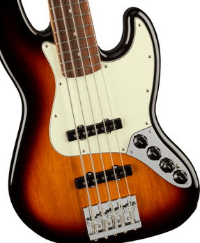Fender Player Plus Active Jazz Bass V 5-String PF 3-Tone Sunburst [ARRIVING 9/20]