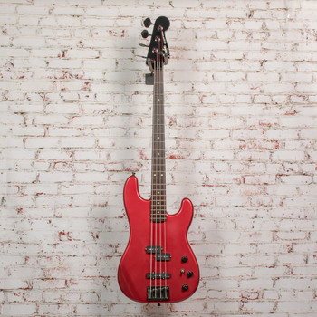 Fender 1989 Jazz Bass Special MIJ Electric Bass Red x7558 (USED)