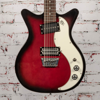 Danelectro 59X12 String Electric, Blood Red x9415