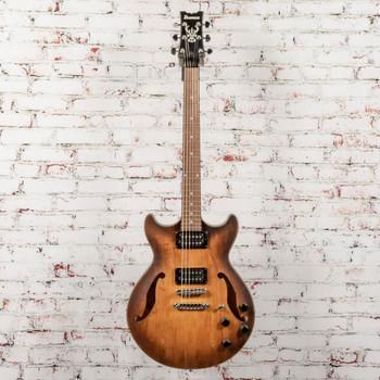 Ibanez AM73BTF Hollowbody Electric Guitar Satin Tobacco Burst x0457