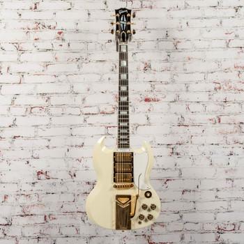 Gibson 60th Anniversary 1961 SG Les Paul Custom VOS - Polaris White x5601