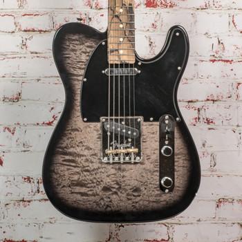 Fender 2019 LE Tele Pale Moon Ebony QM w/OHSC x9104 (USED)
