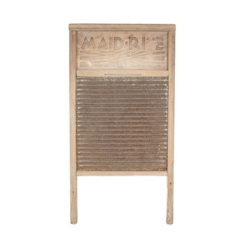 Vintage Columbus Washboard Co. No. 2072 Maid-Rite Washboard (USED) x3303