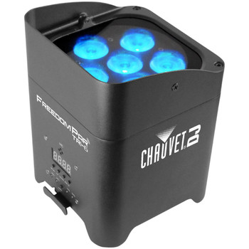 Chauvet Freedom Par Tri-6 Wireless Battery Operated Tri-color LED