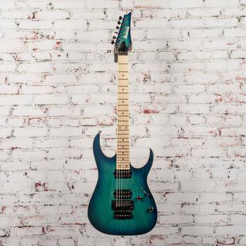 Ibanez Prestige RG652AHM Electric Guitar Nebula Green Burst x2132