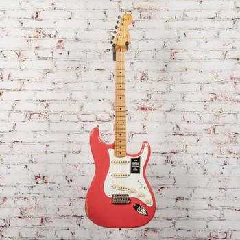 Fender Vintera Road Worn 50's Stratocaster Fiesta Red x2858