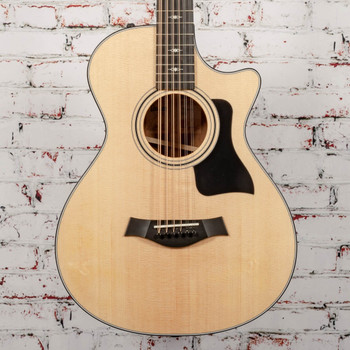 Taylor 352ce V-Class 12-Fret Grand Concert 12-String Acoustic Electric Guitar Natural x1161