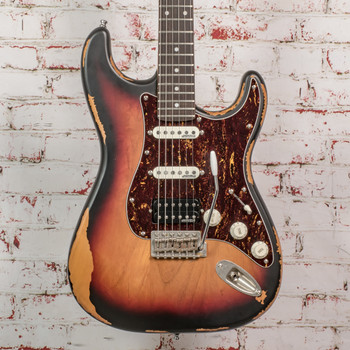 Vintage Icon Series V6 Strat w/ Wilkinson Hardware and Pickup x0110 (USED)