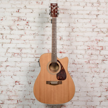 Yamaha FX370C Acoustic/Electric Guitar Natural x7047 (USED)