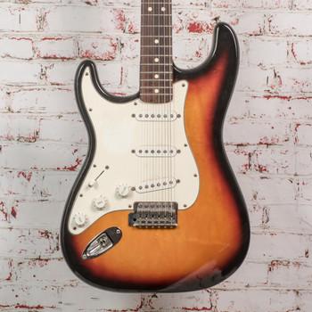 Fender 2000 MIM Lefty Stratocaster 3-Color Sunburst x4404 (USED)