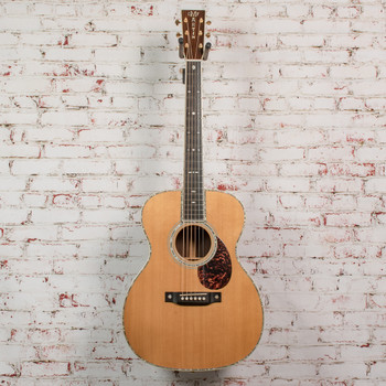 Martin 2002 OM-42 Natural Acoustic Spruce/Rosewood w/OHSC (USED) x0413
