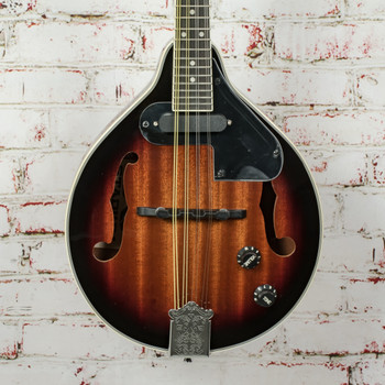 Stadium M-5 New York Pro Acoustic/Electric Mandolin Sunburst (MINT)