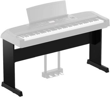 Yamaha L300B Furniture Stand for DGX670B Weighted Digital Piiano, Black