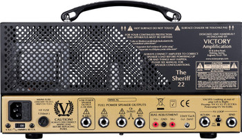 Victory The Sheriff 22 Compact Guitar Amplifier Head