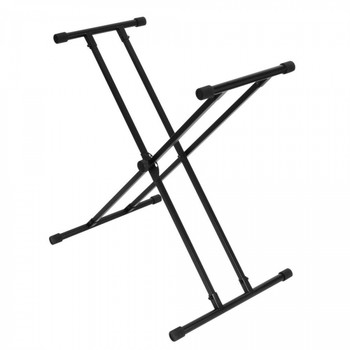 OnStage KS8191 Double-X Bullet Nose Keyboard Stand with Lok-Tight Construction