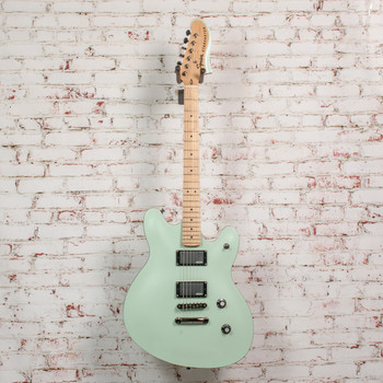 Squier Contemporary Active Starcaster® Electric Guitar, Maple Fingerboard, Surf Pearl x5309