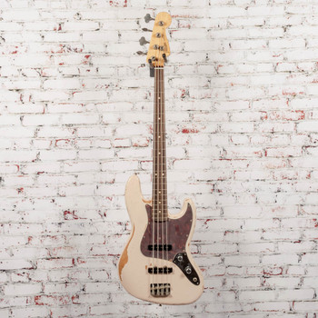 Fender Flea Jazz Bass, Rosewood Fingerboard, Roadworn Shell Pink x7522