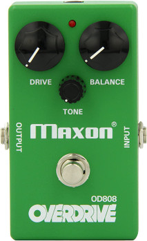 Maxon Reissue Series OD808 Guitar Overdrive Pedal