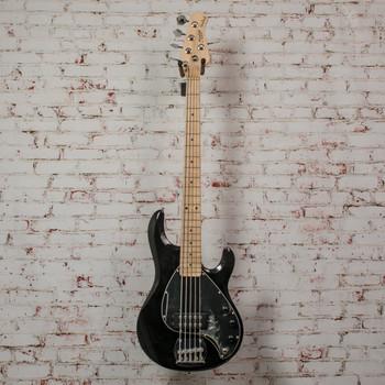 Sterling S.U.B Ray 5 5-String Electric Bass Black x2295 (USED)