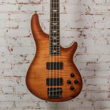 Schecter Omen Extreme-4 Bass Guitar - Vintage Sunburst x0839 (USED)