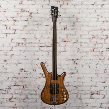 Warwick Teambuilt Pro Series Corvette $$, 4-String, Fretless Bass ATTS x8121