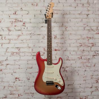 Fender 2010 American Deluxe Strat Sunset Metallic w/ OHSC x9636 (USED)