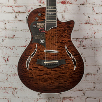 Taylor T5z Pro Hybrid Guitar - Molasses Burst x4122 (USED)