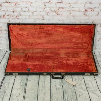 Fender Late 60's Vintage Black Tolex Electric Guitar Case (USED) x3035