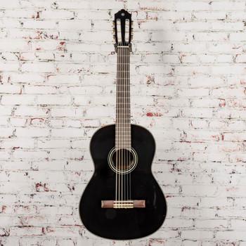 Yamaha C40 Nylon Classical Gloss Black Acoustic Guitar x7099 (USED)
