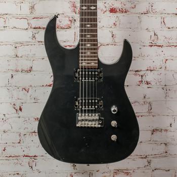 B.C. Rich ASM 1 Black Electric Guitar Black x0216 (USED)