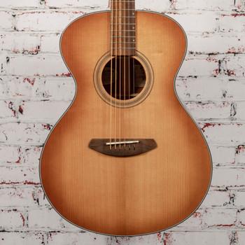Breedlove B-Stock Signature Concert Copper CE Acoustic Electric Guitar Torrefied European-African Mahogany x7256
