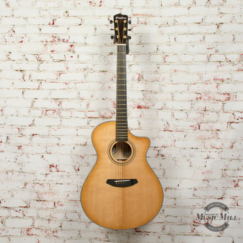 Breedlove B-Stock Artista Concerto Natural Shadow CE Acoustic/Electric Guitar Torrefied European Spruce - Myrtlewood x8126