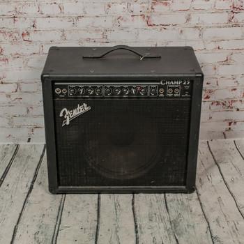 Fender 1990s Champ 25 PR202 USA Tube Combo Amp x9007 (USED)