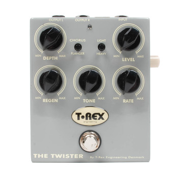 T-Rex Twister Chorus/Flanger Pedal x4601 (USED)