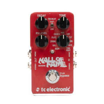 TC Electronic Hall Of Fame Reverb Pedal x2760 (USED)