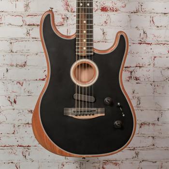 Fender Acoustasonic Strat in Black w/ Bag x9007 (USED)