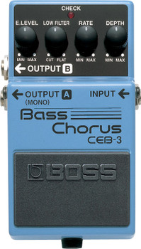 Boss CEB-3 Bass Chorus Effect Pedal