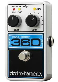 Electro-Harmonix Nano Looper 360 Guitar Pedal