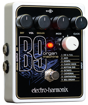 Electro Harmonix B9 Organ Machine Emulator Effect Pedal