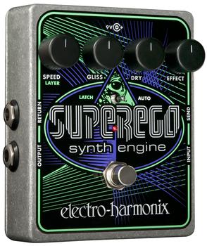 Electro-Harmonix Super Ego Synth Engine Pedal