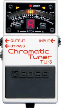 Boss TU-3 Chromatic Tuner Pedal Guitar Bass