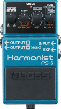 Boss PS-6 Harmonist Pitch Shifter Guitar Pedal