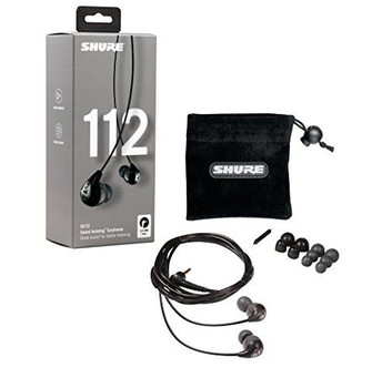 Shure SE112 Sound Isolating Earphones - Black