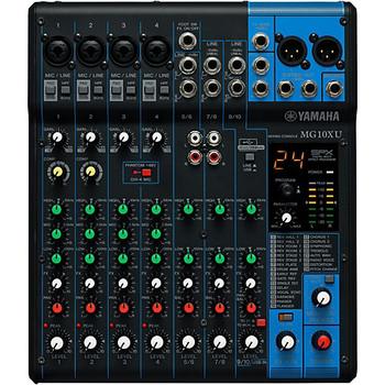 Yamaha MG10XU 10 Channel Mixer