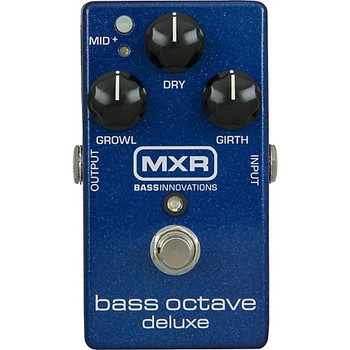 MXR Bass Octave Deluxe Effect Pedal