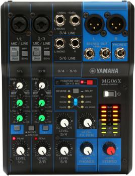 Yamaha MG06X Analog Mixer