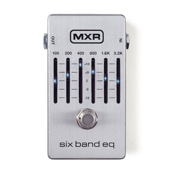 MXR M109S 6 Band Graphic EQ Effect Pedal